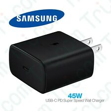 Original Samsung Galaxy 45 Watt USB Type-C PD Fast Charging Wall Charger Adapter