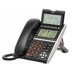 NEC ITZ-8LDG-3(BK)TEL 660018 IZV(XDG)W-3Y(BK)TEL IP Gigabit Phone 90DAY WARRANTY