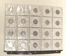 """Lot of 20 Canadian Nickels 2002, 2003, 2004 with RARE """"P"""" and """"WP"""" marks"""