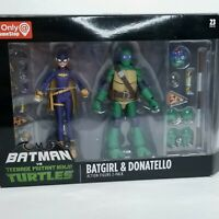 GameStop Batman Vs Teenage Mutant Ninja Turtles Batgirl Donatello DC 23 Pieces