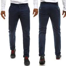 Pantalones de hombre azul W31
