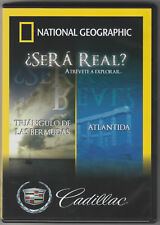 Nat Geo: Sera Real? Atlantida/ Triangulo de Las Bermudas (DVD) -Cadillac promo