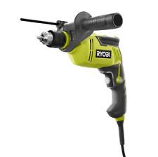 Ryobi Hammer Drill 12 In Keyed Chuck 62 Amp 2700 Rpm Lock On Trigger Button