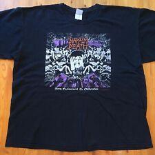Original Napalm Death XL Shirt grind tour entombed wormrot carcass godflesh ent