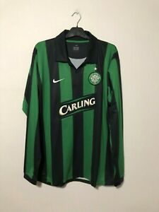 Celtic Player Issue Away Football Shirt 2006/07 XL Extra Large Long Sleeve L/S
