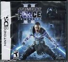 Star Wars: The Force Unleashed II (Nintendo DS, 2010) Factory Sealed