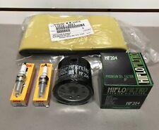 Kawasaki Brute Force Tune Up Kit Spark Plugs Air Filter Oil Filter Kvf 650 750