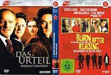 DVD mit 2 Filmen - Burn After Reading + Das Urteil - George Clooney, John Cusack