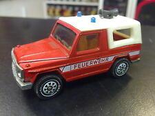 Siku Mercedes Benz 280 GE Feuerwehr
