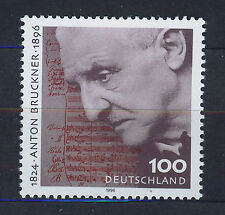 ALEMANIA/RFA WEST GERMANY 1996 MNH SC.1947 Anton Bruckner,composer