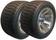 20x10-12 250/40-12 GOLF CART TIRE RIM ASSEMBLY 4ply Club Car EzGo Yamaha Bad Boy