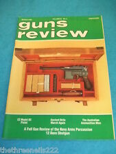 GUNS REVIEW - CZ MODEL 82 PISTOL - MARCH 1989 VOL 29 # 3