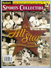 Beckett Collectibles July 2000-All Star Issue-Dimaggio-Williams-Musial-Berra +++