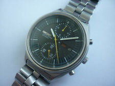 Großer SEIKO Stahl Automatic Chronograph 6138 - 3002 - wohl 70er Jahre