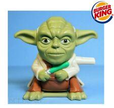 STAR WARS Burger King > YODA < Wind-up=Flip > 2005 : Rare