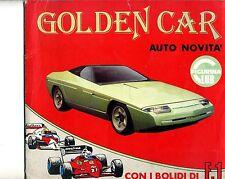 album Golden Car - Auto novita' - figurina Club con bolidi di F1 - 1985