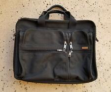 Tumi 'Alpha' Expandable Organizer Laptop Business Brief Black 26031D4 MSRP $395
