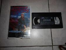 "Johnny Hallyday Cassette VHS  ""Histoire d'un spectacle"" Bercy92"
