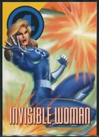 1996 Marvel Vision Trading Card #56 Invisible Woman