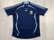 ARGENTINA HOME FOOTBALL SHIRT 2006/2007 FOOTBALL JERSEY ADIDAS SIZE XL ADIDAS