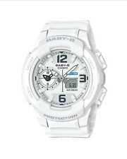 Casio Baby-G * BGA230-7B Dual Time White Anadigi for Women COD PayPal