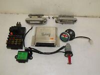 ALFA ROMEO 166 2000 2.4 JTD 100KW LHD IGNITION KIT ENGINE CONTROL UNIT MODULE