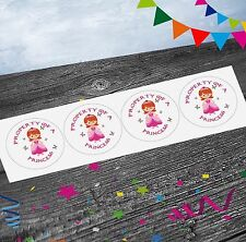 Princess Fairy Tail Stickers (Pack of 12) Party Bags Goody Bag Fillers Girls Kid