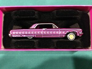 """HOT WHEELS RLC EXCLUSIVE """"THE ROSE' n ONE""""  64 CHEVY IMPALA  LOWRIDER"""