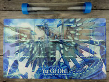 YuGiOh Blue-Eyes Chaos MAX Dragon Custom Playmat Master rule 4 Zones Free Tube