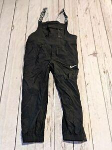 NIKE Adult Sz XXL Unisex Elastic Strap Nylon Black Overalls Loose Fit CK0545-010