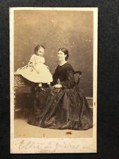 Victorian Carte De Visite CDV: Family: Kay: Liverpool: Fancy Clothes