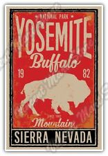 "Yosemite National Park Sierra Nevada Car Bumper Vinyl Sticker Decal 3.8""X5"""