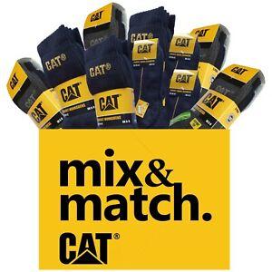 "CAT Caterpillar Socken MEGA ""Mix&Match""-Auswahl, alle Größen, mehr als 25 Sorten"