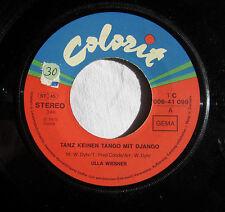 "7"" Vinyl - ULLA WIESNER - Tanz keinen Tango mit Django"