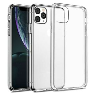 Clear TPU Silicone Shockproof Case for iPhone 12,11 Pro Max,XR,X,Xs,SE,8,7,6s