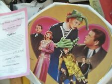 "(J) 1996 I Love Lucy ""LUCY MEETS ORSON WELLES"" w/ COA   Collector Plate NEW"
