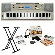 Yamaha YPG235 76-Key Piano Keyboard with Stand and Power Adapter