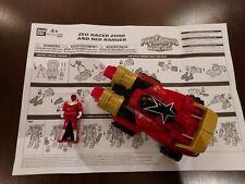 Power Rangers Super Megaforce Zeo Racer Zord with Key