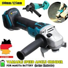 Akku Winkelschleifer 18V 100 mmTrennschleifer Scheibe 100mm für Makita Batterie