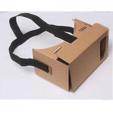 3D Virtual Reality Glasses Black Head Strap Heaad Mount For Google Cardboard HOT
