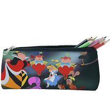 8d9d63aa19 Alice In Wonderland Pencil Case Cosmetic Bag Travel Case Zip Purse p17 w0003