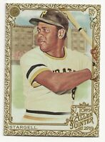 WILLIE STARGELL 2019 Topps Allen and Ginter Gold Border Pittsburgh Pirates (#87)