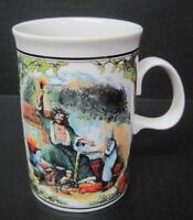 "A Christmas Carol Dunoon Scotland 4 1/4"" tall  Coffee Mug Cup"