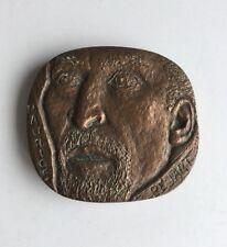 Médaille En Bronze Maurice BEJART Signée SERRAZ