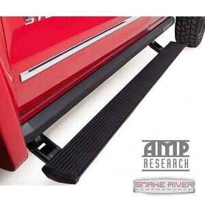 AMP RESEARCH POWERSTEP XL 2014-2018 CHEVY SILVERADO GMC SIERRA 1500 CREW CAB