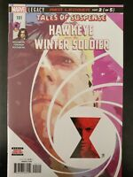 TALES of SUSPENSE #101a Hawkeye Winter Soldier (2018 MARVEL Comics) ~ VF/NM Book