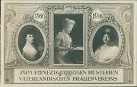 Ansichtskarte Kaiserin Auguste Viktoria vaterländischen Frauenverein  (Nr.9629)
