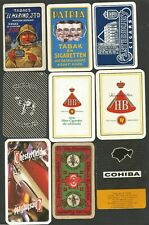 JEUX DE CARTES-PLAYING CARDS- 9 SINGLES-DOS DIFFERENTS  TABACS.