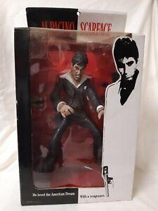 "Scarface The Enforcer 10"" Tony Montana Action Figure BLOODY version Mezco Toyz"