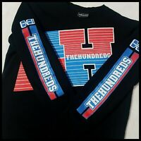 The Hundreds Sweatshirt | Medium | Black/Red/Blue